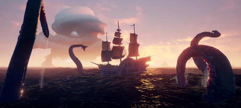 Разработчики Sea of Thieves запланировали шесть дополнений до конца года