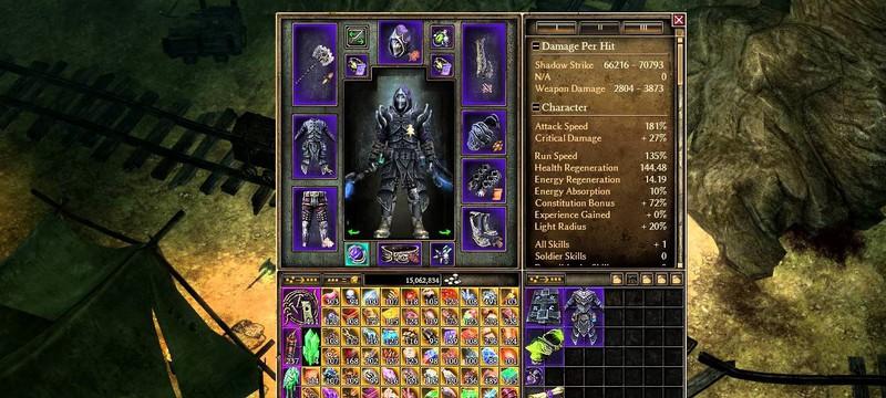 Скриншоты дополнения Forgotten Gods для Grim Dawn