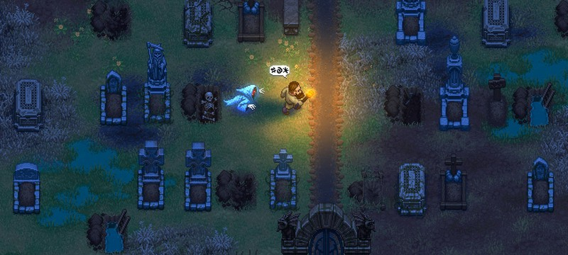 Первый геймплей Graveyard Keeper — симулятора хранителя кладбища