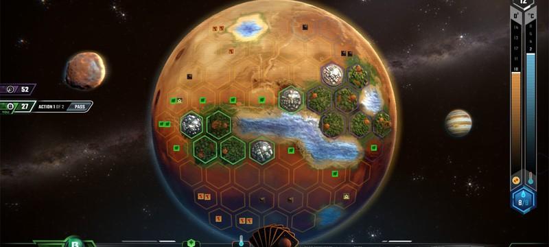 Terraforming Mars — цифровая настольная игра по колонизации Марса