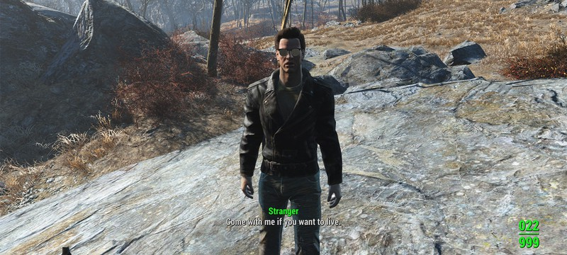 Этот мод Fallout 4 превращает игру в бегство от Терминатора