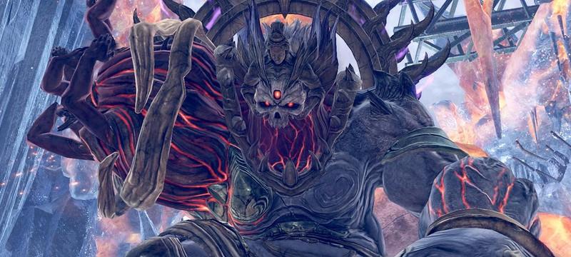 Сражение с двумя Арагами в новом геймплее God Eater 3