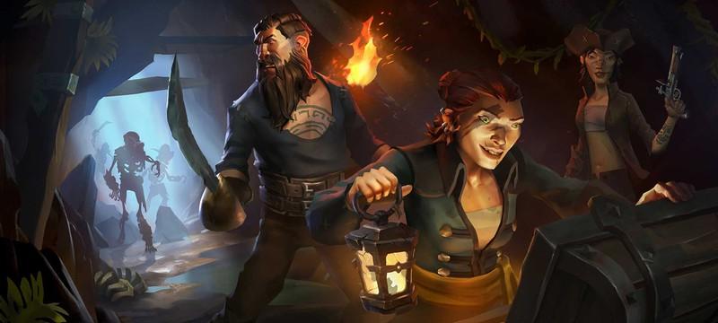 Половина игроков ушли из Sea of Thieves после пробного периода