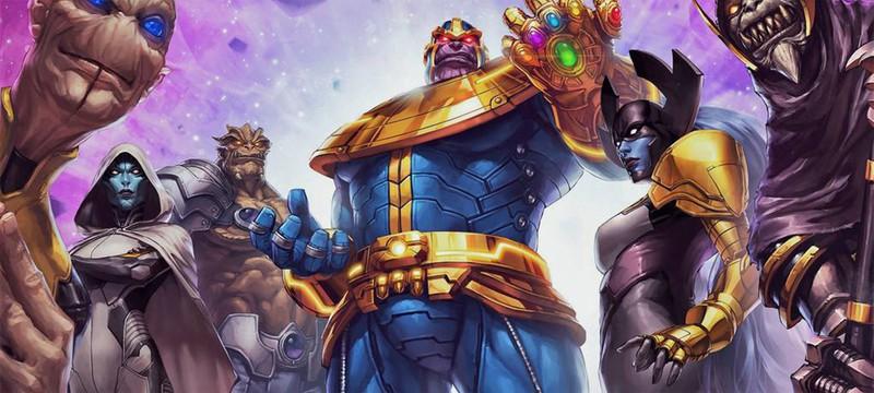 Чёрный Орден Таноса — разбираемся с персонажами