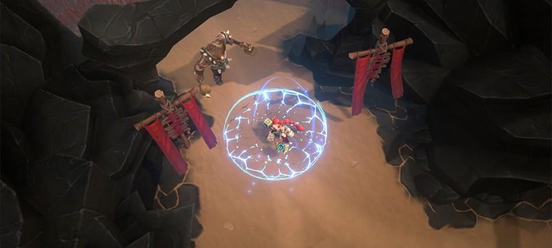 Первые скриншоты Battlerite Royale
