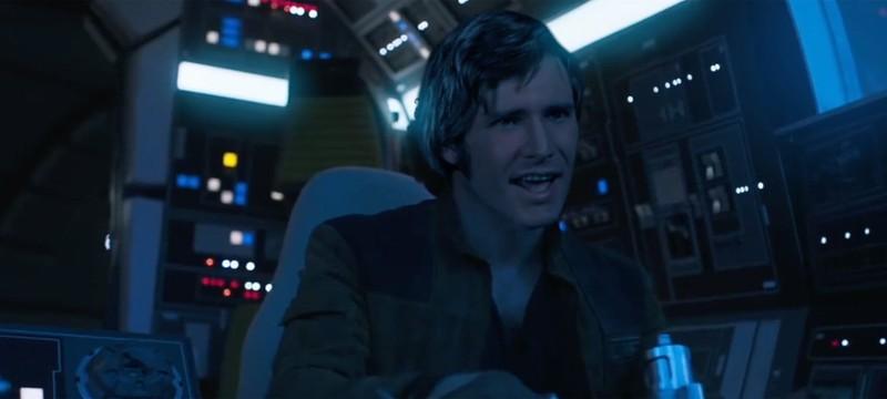 """Кто-то вставил лицо молодого Харрисона Форда в трейлер """"Соло"""""""