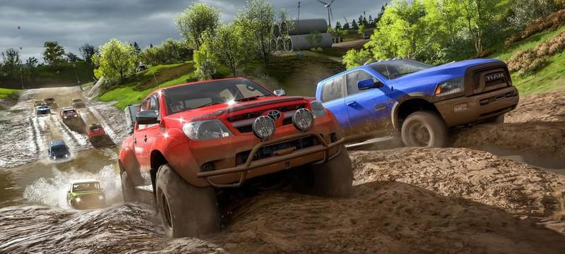 Тонна геймплея Forza Horizon 4
