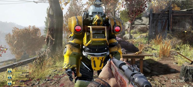 Вы не сможете сбросить характеристики персонажа в Fallout 76