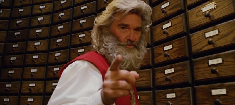 Курт Расселл в роли Санты в первом тизере Christmas Chronicles