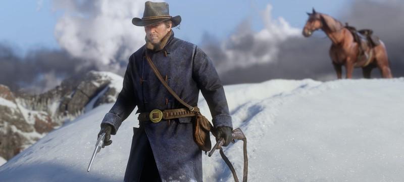 Патч первого дня Red Dead Redemption 2 весит три гигабайта