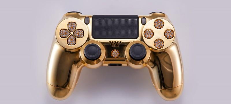 DualShock 4 из чистого золота станет вашим всего за 14 000 долларов