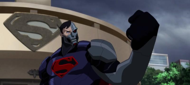 Дебютный трейлер анимационного фильма Reign of the Supermen