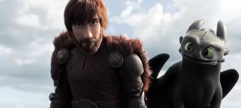 """Новый трейлер мультфильма """"Как приручить дракона 3"""""""