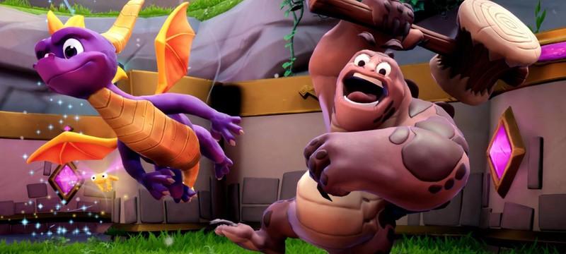 Драконьи шахты в новом геймплее Spyro Reignited Trilogy