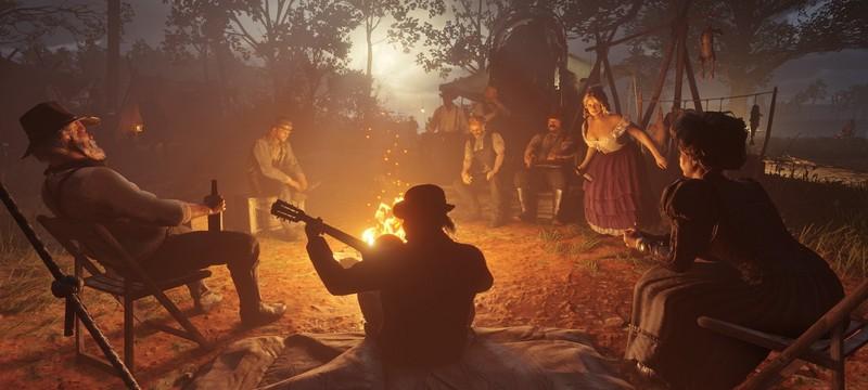 Что дает улучшение лагеря в Red Dead Redemption 2