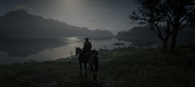 Игрок нашел край карты Red Dead Redemption 2 и провалился в бездну