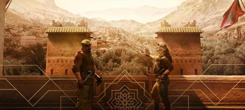 Первый взгляд на марокканских оперативников Rainbow Six Siege