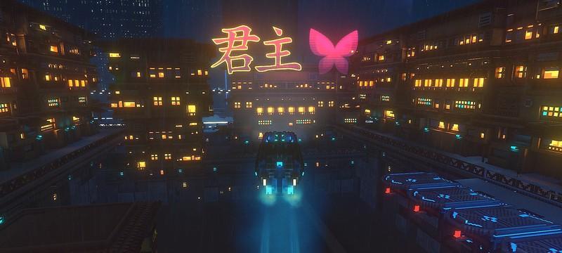 Дебютный трейлер сюжетного киберпанк-симулятора Cloudpunk