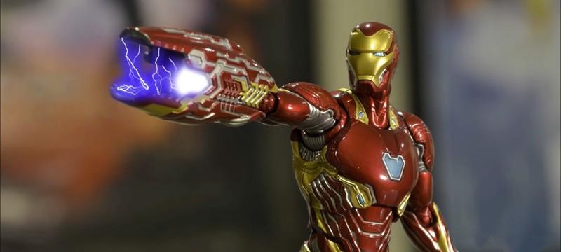 Игрушечная битва Железного человека и Таноса