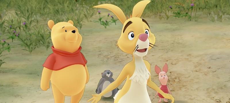 Винни-Пух и его друзья на свежих скриншотах Kingdom Hearts III