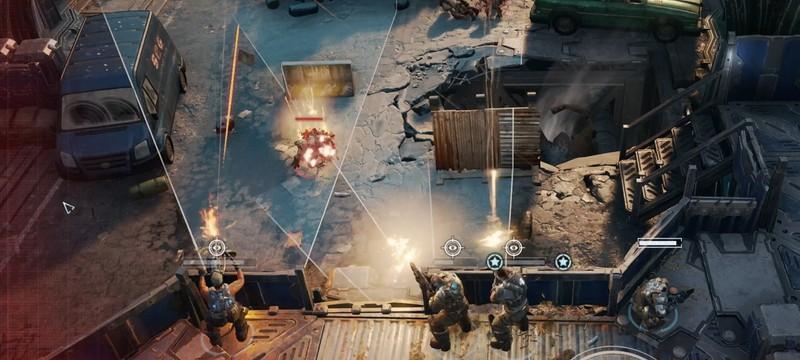 Разработка Gears Tactics ведется с учетом качественной PC-версии