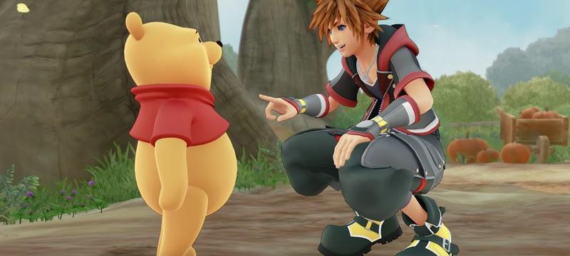 В Китае закрасили Винни-Пуха на скриншотах Kingdom Hearts III