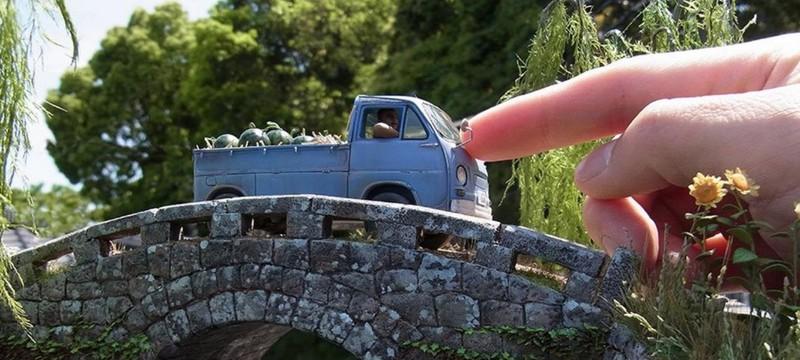 Невероятно реалистичные мини-диорамы от японского художника