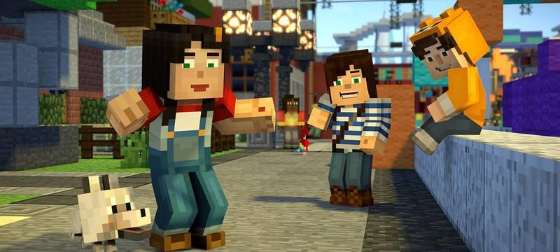 Первый сезон Minecraft: Story Mode от Telltale вышел на Netflix