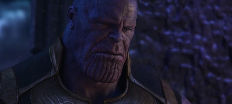 """В """"Войне бесконечности"""" была фальшивая сцена с убийством Таноса Гаморой"""