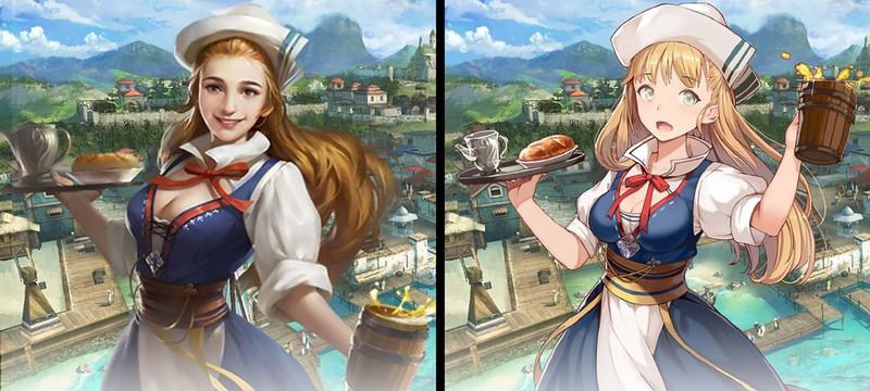 Китайские разработчики поменяли арты персонажей игры ради геймеров из Японии