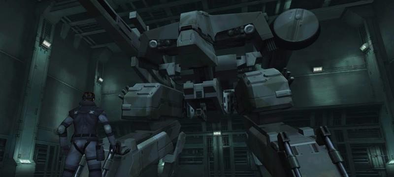 Японские студенты сделали роботизированную мини-версию Metal Gear Rex