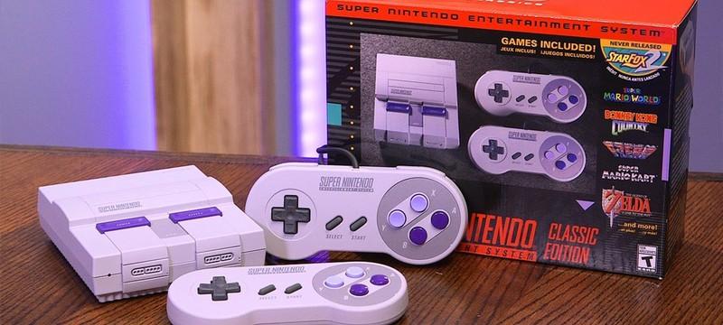 Nintendo больше не будет выпускать SNES Classic и NES Classic в США
