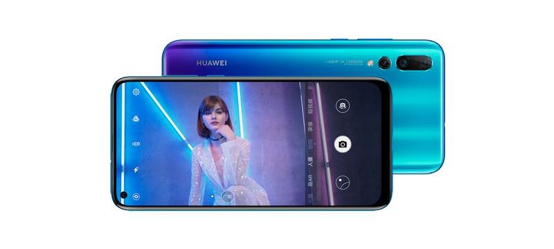 Huawei анонсировала смартфон Nova 4 — с отверстием в дисплее для камеры