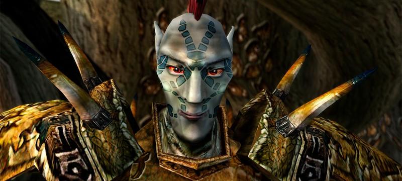 ИИ значительно улучшил текстуры Morrowind
