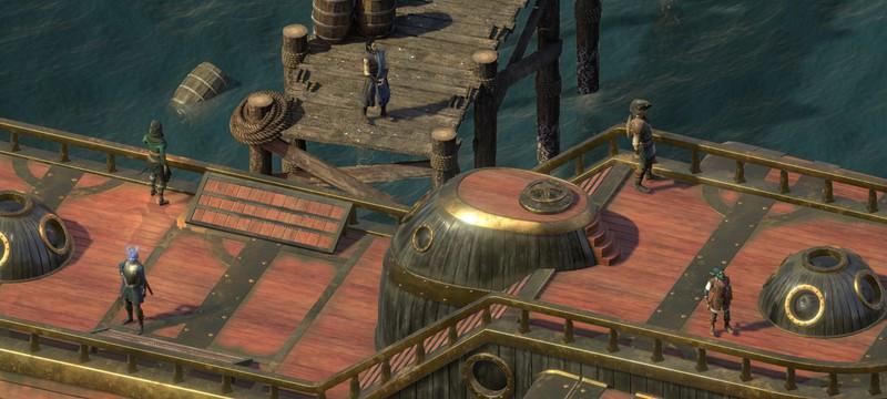 В Pillars of Eternity 2: Deadfire раньше времени появился пошаговый режим боя