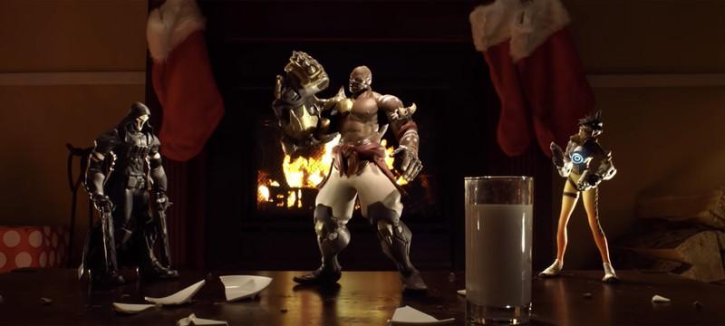 Как снимали рождественскую короткометражку Overwatch
