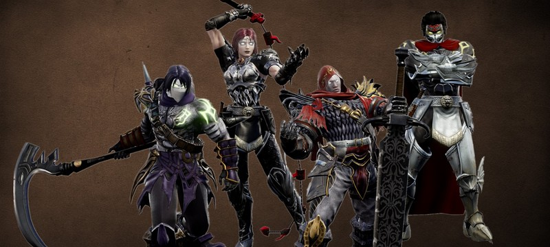Игрок создал всадников из серии Darksiders в редакторе персонажей Soulcalibur VI