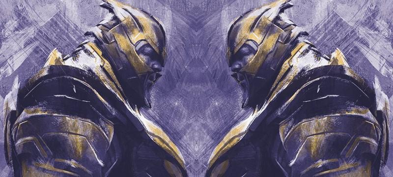 """Арты """"Мстители: Финал"""" представляют Капитана Марвел, Ронина, Таноса и других"""