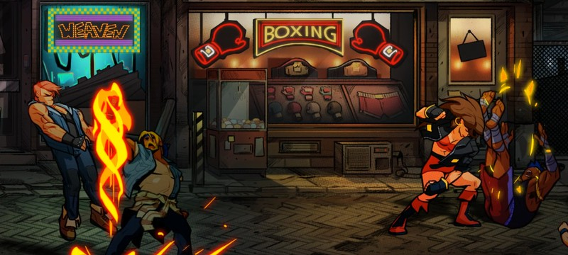 Новые скриншоты Streets of Rage 4