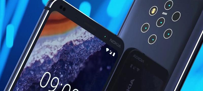 Nokia получит смартфон с 5 камерами и сенсором отпечатка в дисплее