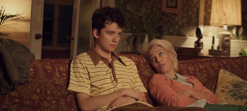 Джиллиан Андерсон в роли сексолога в трейлере сериала Sex Education