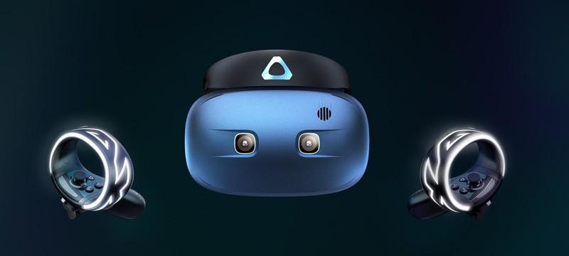 HTC анонсировала автономный VR-девайс Vive Cosmos