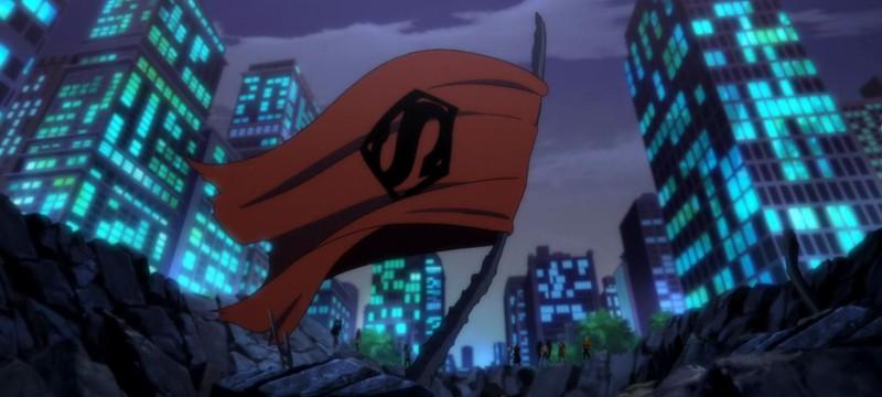 Комбинированный трейлер к мультфильмам The Death of Superman и Reign of the Supermen
