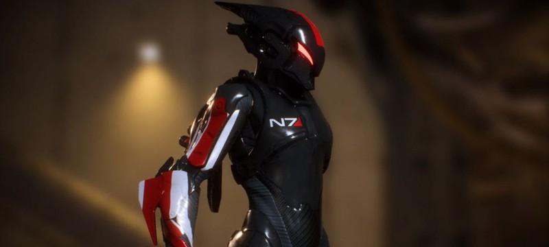 Броня N7 из Mass Effect в Anthem выглядит отлично