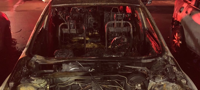 Одержимый поклонник поджёг автомобиль косплеерши — и уничтожил ещё шесть машин
