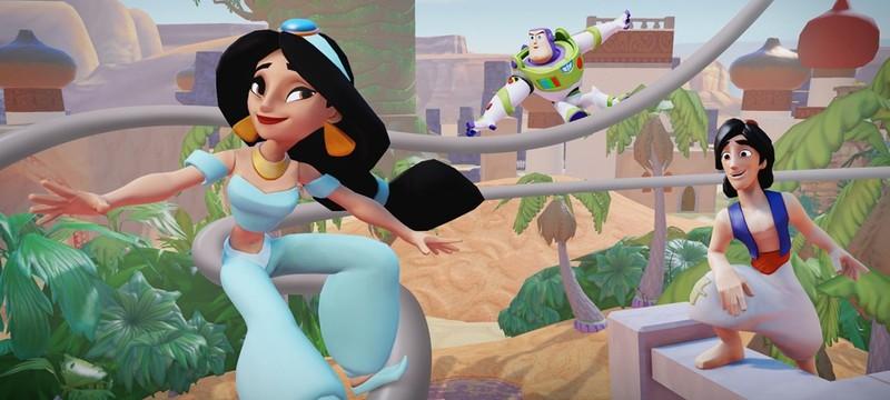 Геймплейный ролик отменённой адвенчуры Disney Infinity 4.0
