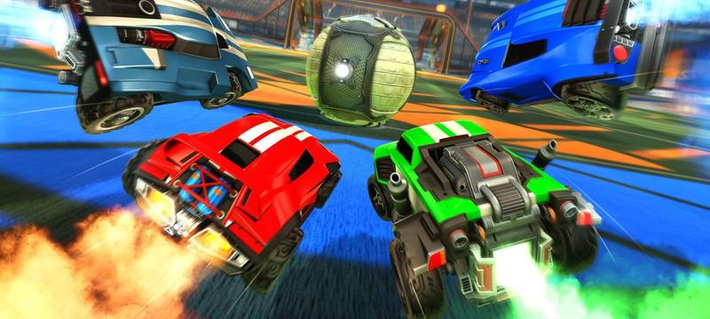 В Rocket League появился кроссплей со всеми платформами