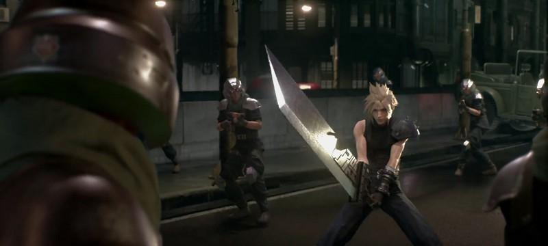 Разработка Final Fantasy VII: Remake проходит через три этапа