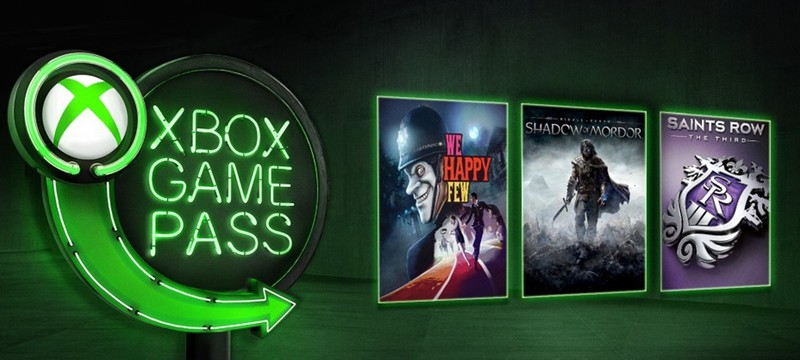 Xbox Game Pass в январе пополнится We Happy Few и Middle-earth: Shadow of Mordor