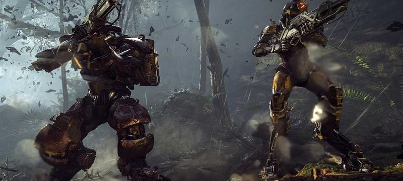 Прохождение побочной миссии в новом геймплее Anthem